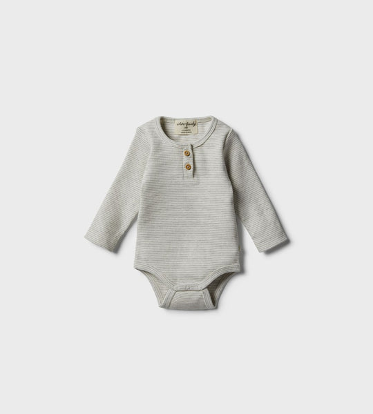 Wilson & Frenchy | Organic Bodysuit | Cloud Grey