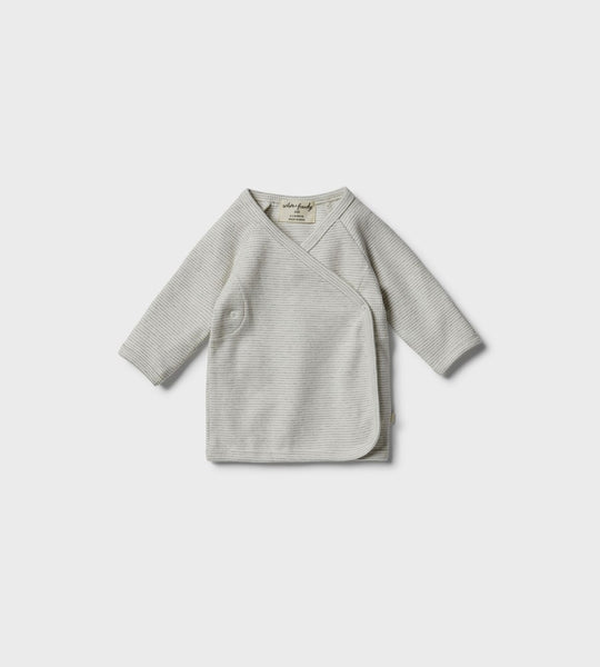 Wilson & Frenchy | Organic Kimono Top | Cloud Grey
