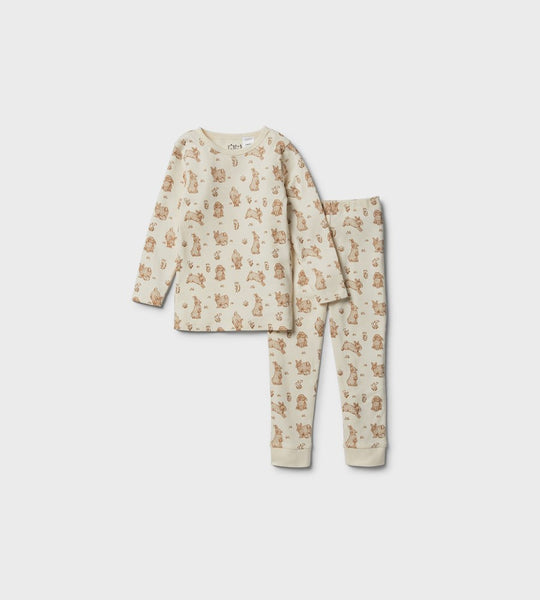 Wilson & Frenchy | Organic L/S Pyjama Set | Little Hop