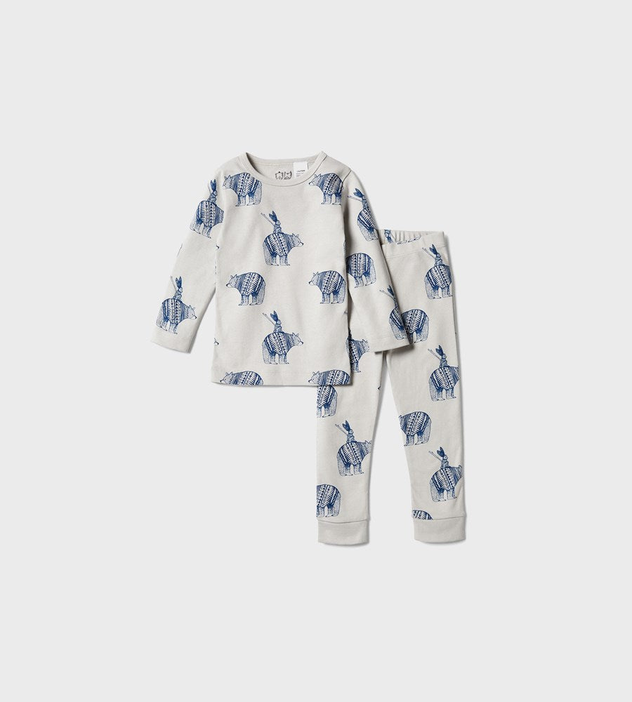 Wilson & Frenchy | Organic Long Sleeve Pyjamas | Little Adventures