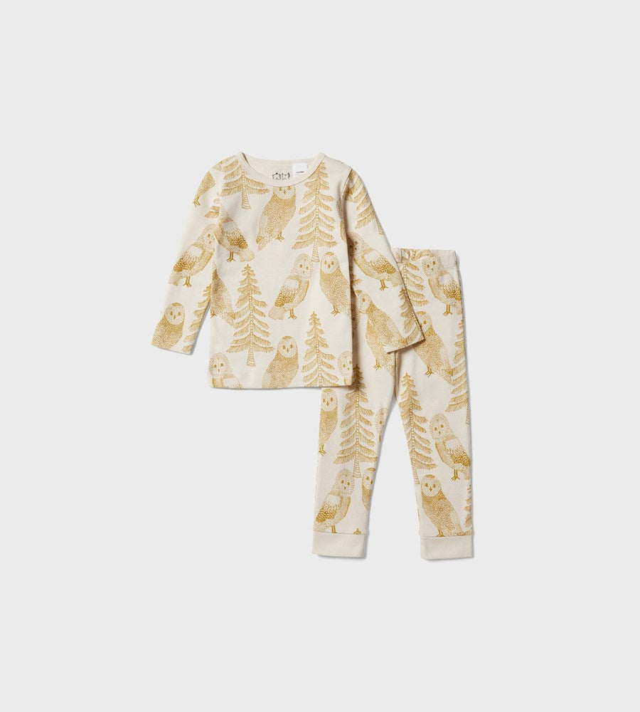 Wilson & Frenchy | Organic Long Sleeve Pyjamas | Owlly
