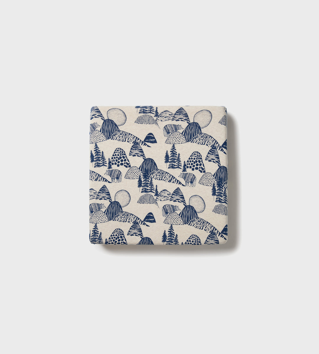 Wilson & Frenchy | Organic Sheet Set | Little Mountains