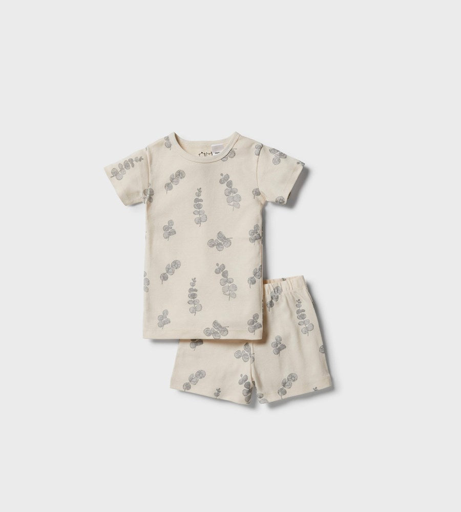 Wilson & Frenchy | Organic Short Sleeve Pyjama Set | Little Ecualyptus