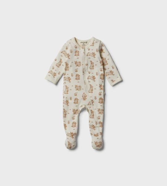 Wilson & Frenchy | Organic Zipsuit | Little Hop