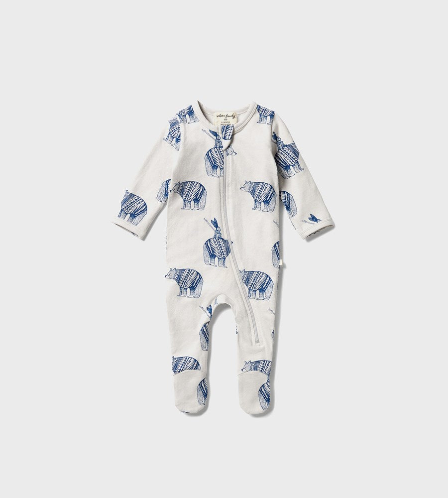 Wilson & Frenchy | Organic Zipsuit | Little Adventures