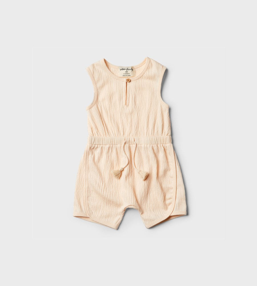Wilson & Frenchy | Playsuit | Peach Dust
