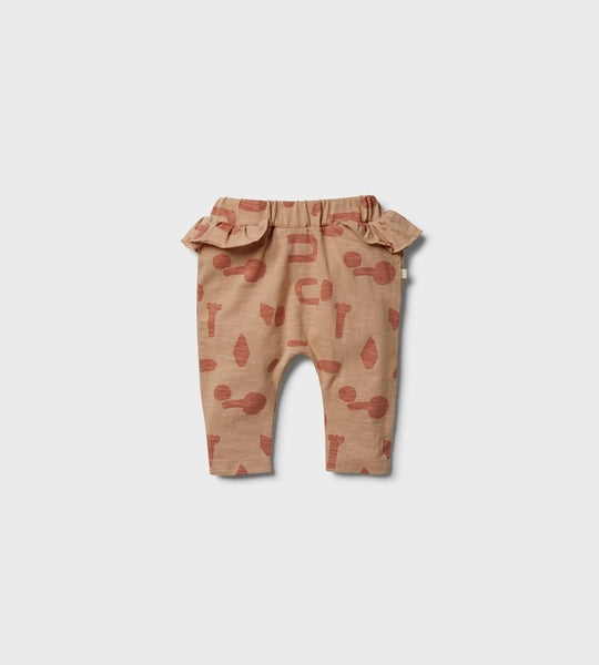 Wilson & Frenchy | Ruffle Pant | Cut N Paste