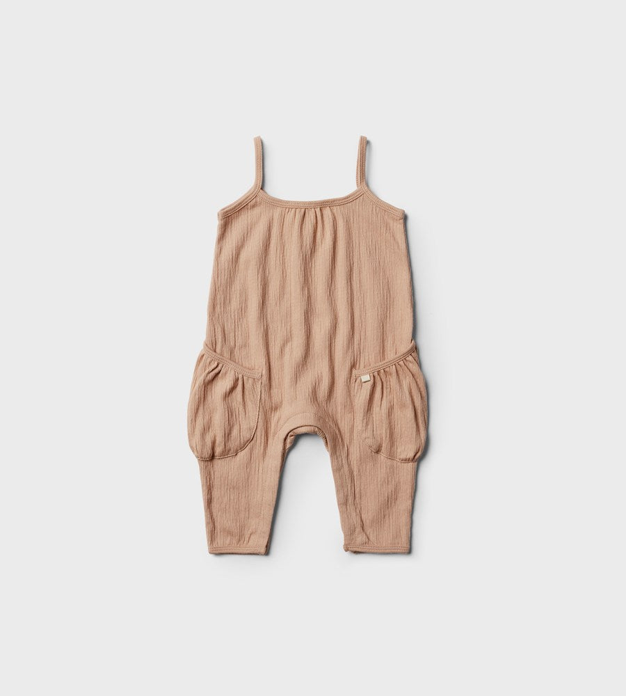 Wilson & Frenchy | Singlet Jumpsuit | Blush