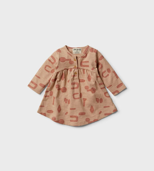Wilson & Frenchy | Smock Dress | Cut N Paste