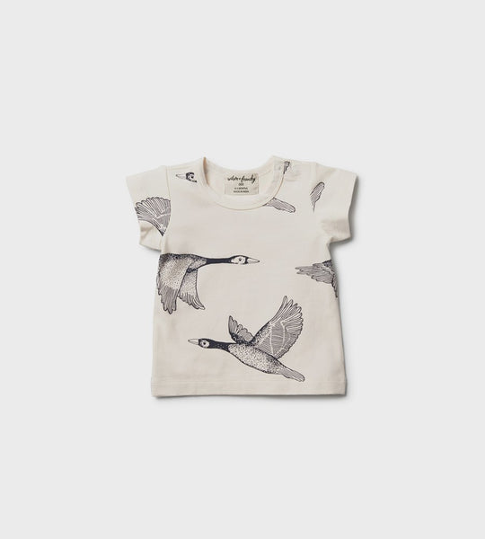 Wilson & Frenchy Tee Lets Fly Away