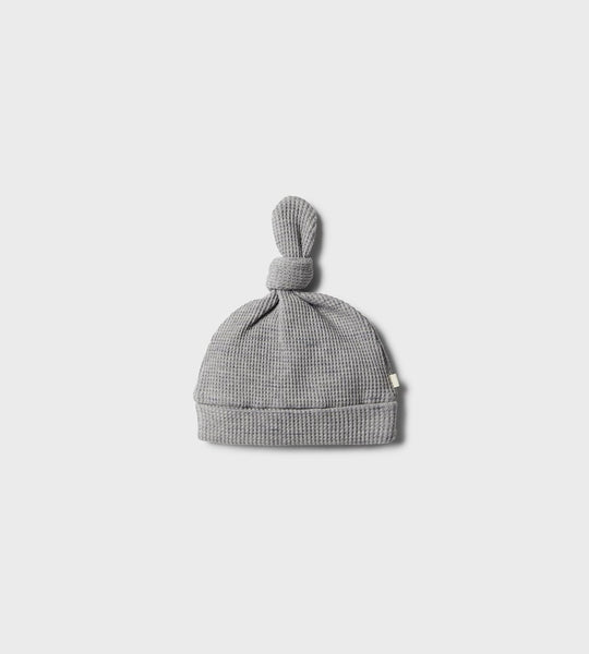 Wilson & Frenchy | Waffle Knot Hat | Cloud Grey