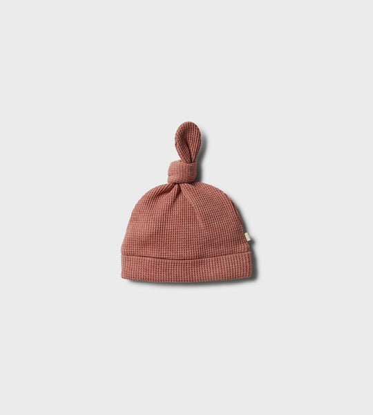 Wilson & Frenchy | Waffle Knot Hat | Peachy