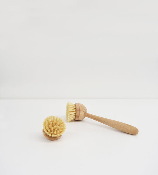 Yesēco | Dish Brush with Removable Head