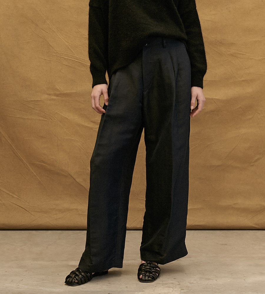 Worn | Lupin Trousers | Ink