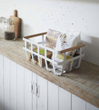 Yamazaki Tosca Storage Basket Double Handle