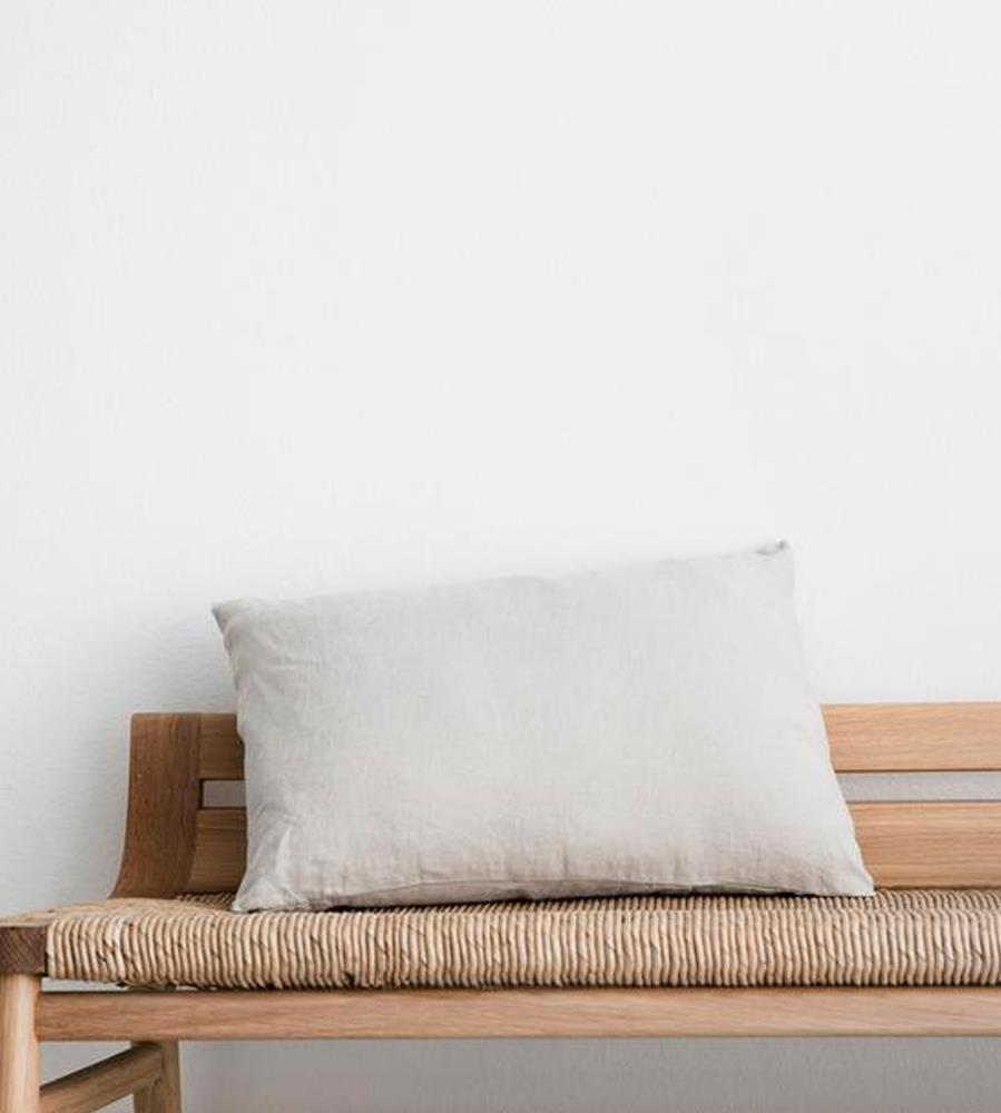 Cultiver | Linen Les Minis Cushion | Smoke Grey