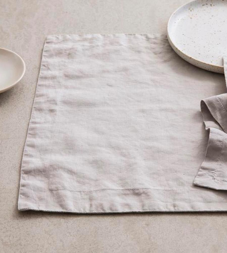 Cultiver | Linen Placemat | Smoke Grey