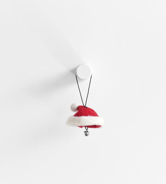 Christmas Decoration Hanging Santa Hat