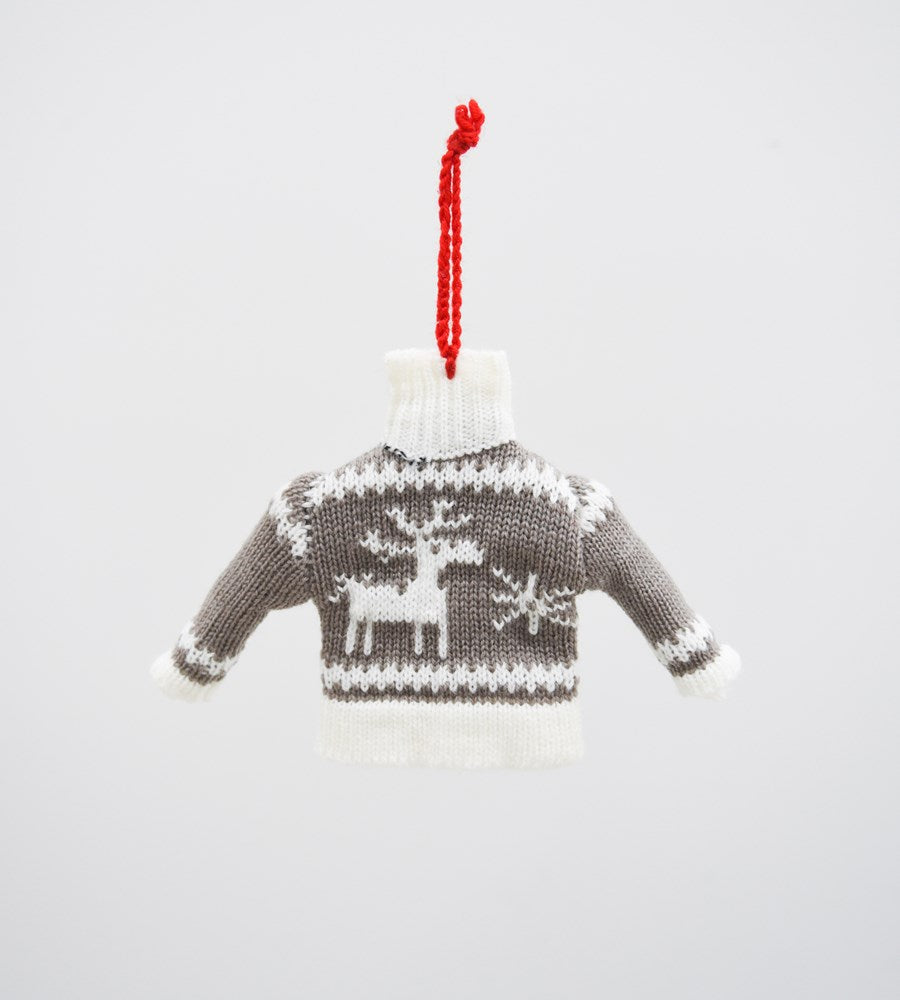 christmas decoration father rabbit ugly sweater