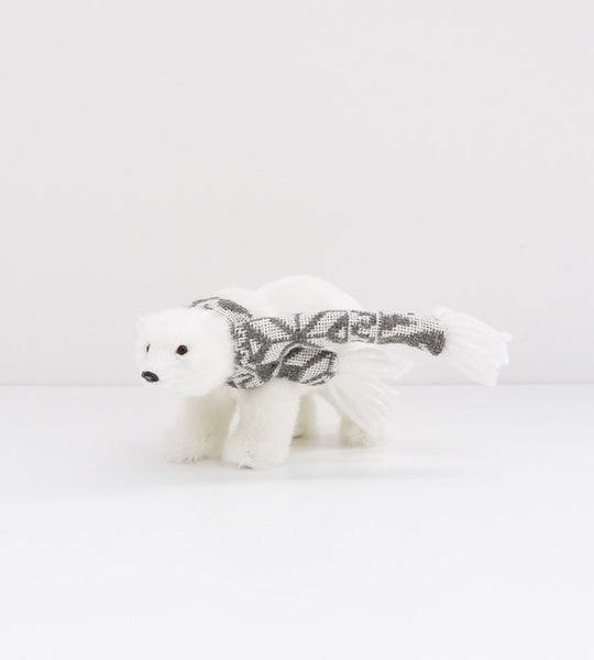 christmas decoration father rabbit polar bear