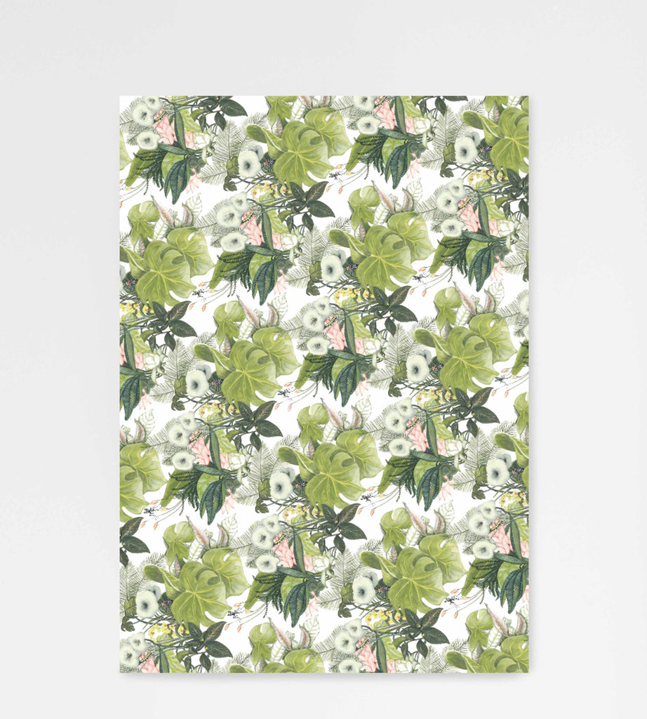 Father Rabbit Stationery | Wrapping Sheet | Botanical Jungle