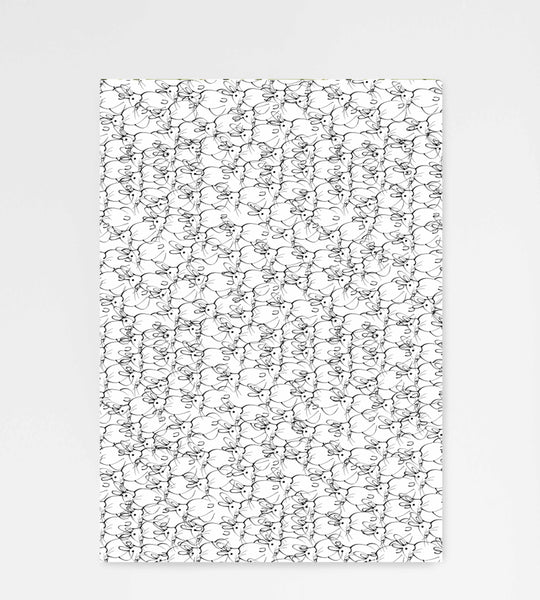 Father Rabbit Stationery Gift Wrapping Paper Rabbits