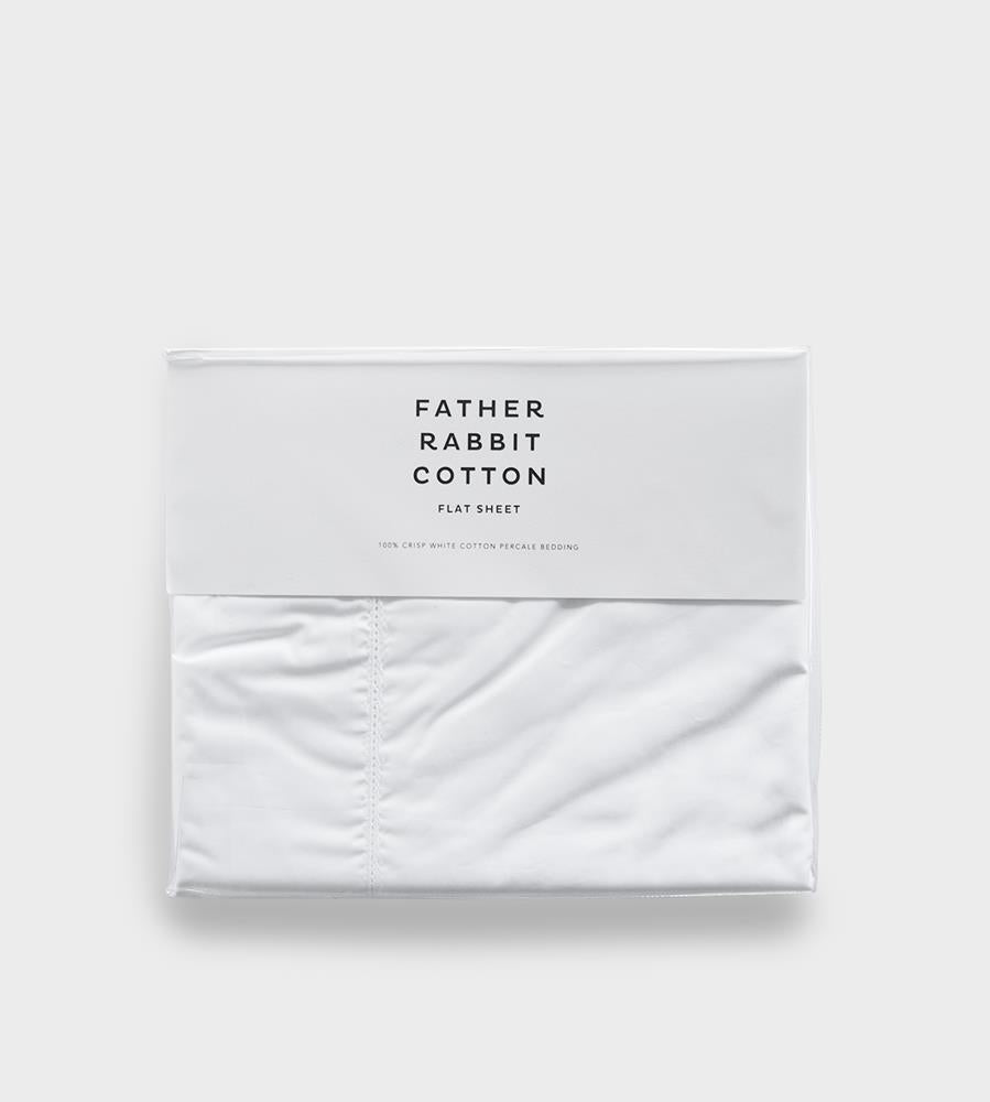 Father Rabbit Cotton Flat Sheet