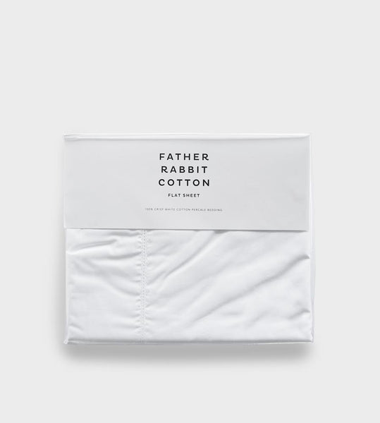 Father Rabbit Cotton | Flat Sheet