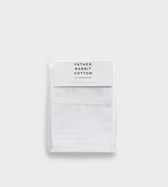 Father Rabbit Cotton | Pillowcase Pair | Standard