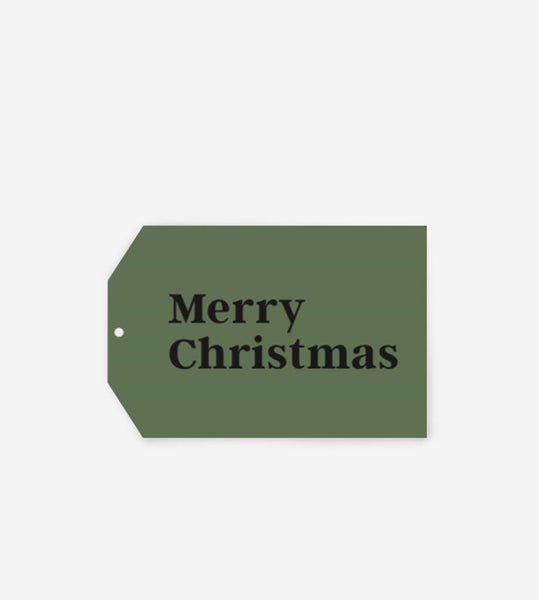 Father Rabbit Stationery Gift Tag | Merry Christmas
