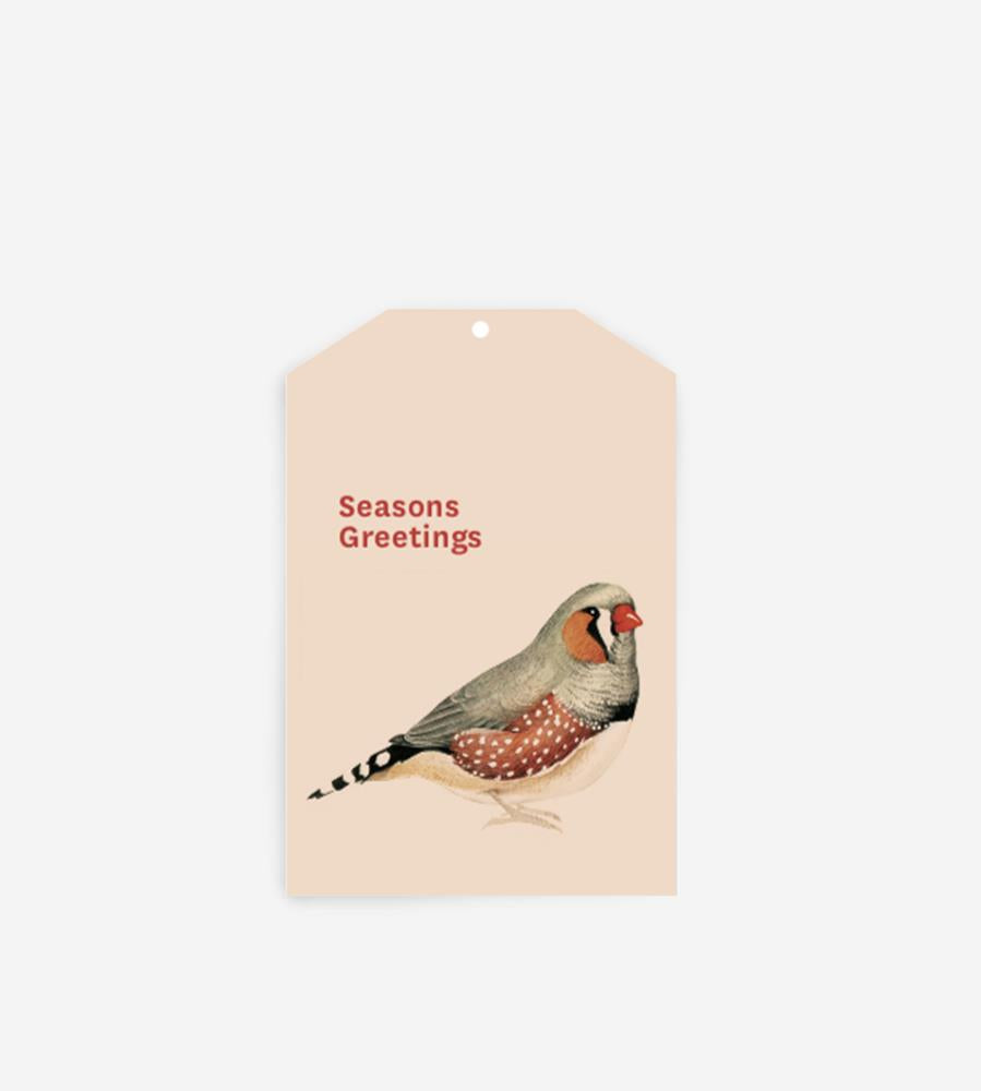 Father Rabbit Stationery Gift Tag Seasons Greetings