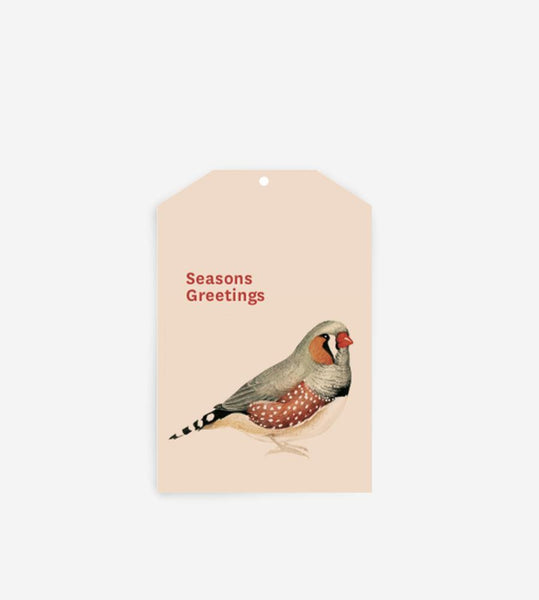 Father Rabbit Stationery Gift Tag | Seasons Greetings