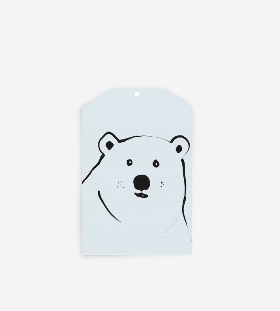 Father Rabbit Stationery Gift Tag | Blue Bear