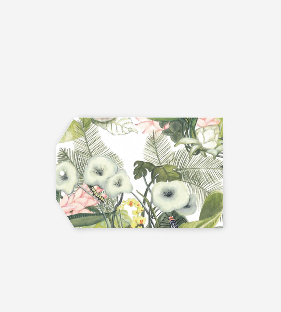Father Rabbit Stationery Gift Tag Botanic Jungle