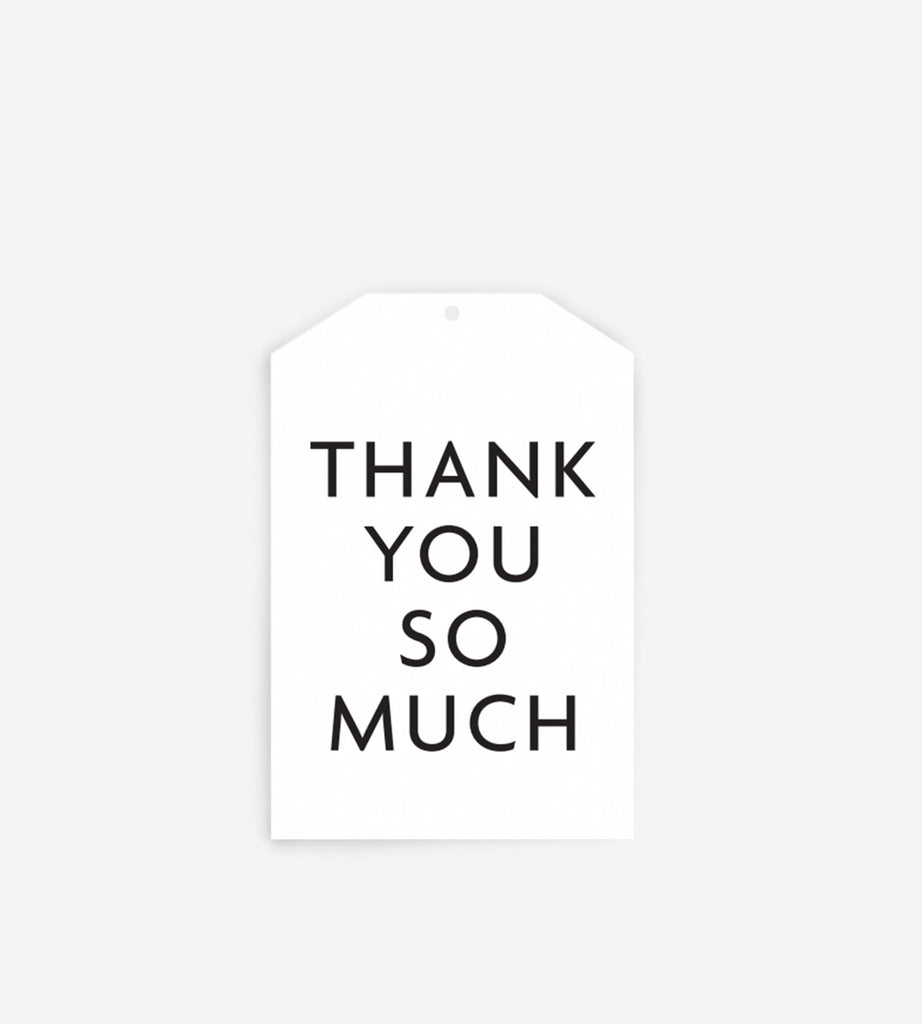 Father Rabbit Stationery Gift Tag | Thank You So Much