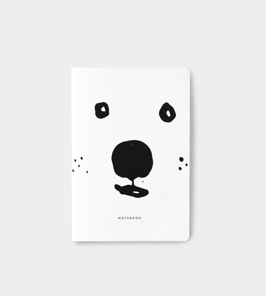 Father Rabbit Stationery Notebook Bear
