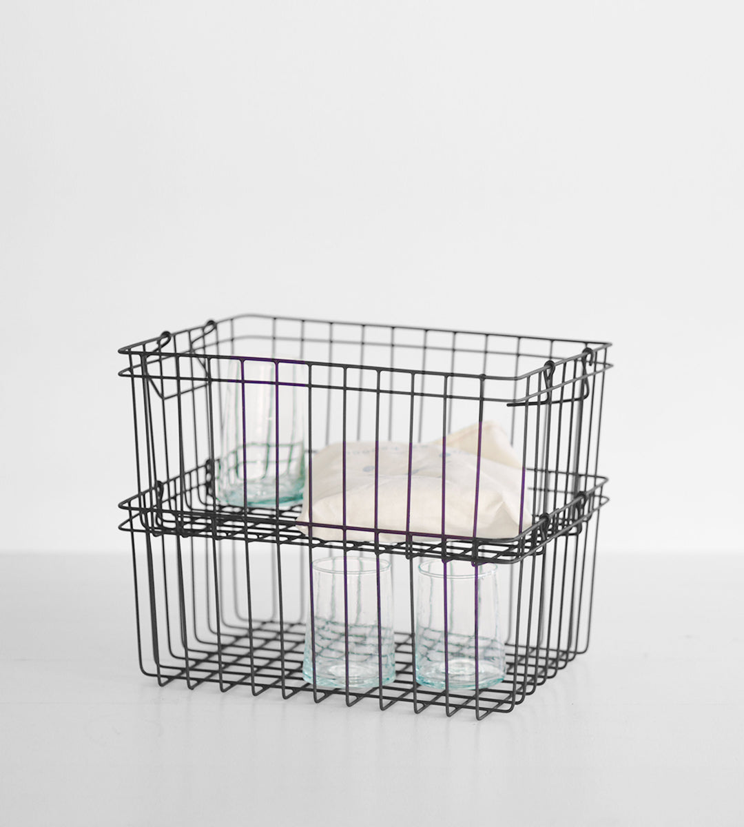 Fog Linen Basket | Stacking Basket