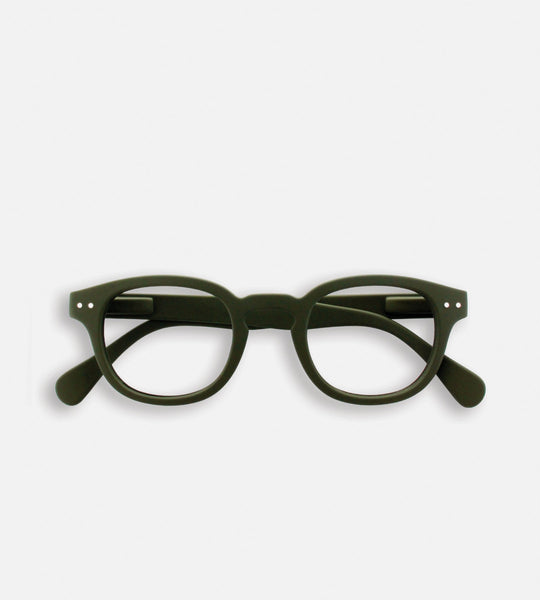 Izipizi Reading Glasses | # C | Khaki Green