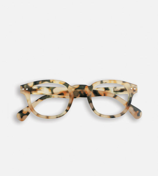 Izipizi Reading Glasses | # C | Light Tortoise