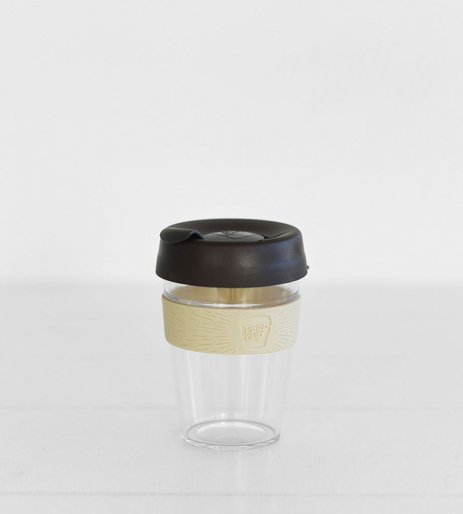 The KeepCup Original Clear 340ml size in Aroma