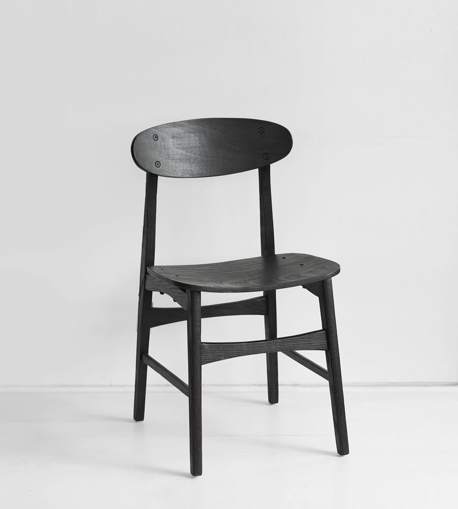 Malmo Black Dining Chair