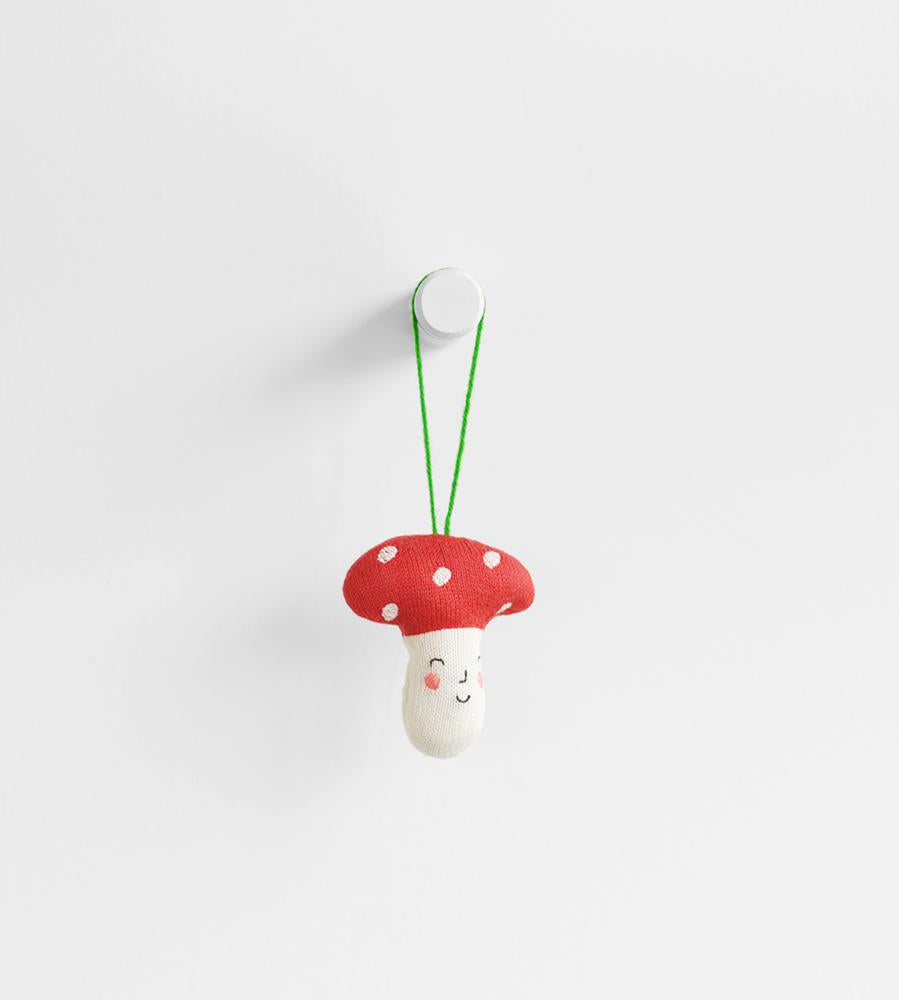 Christmas Decoration | Knitted Mushroom