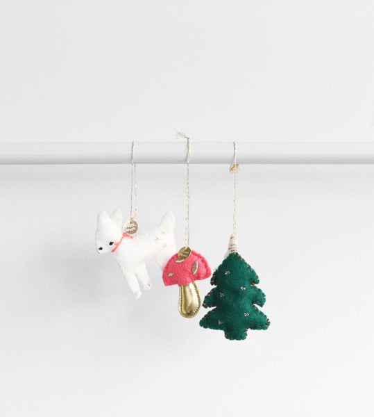 Christmas Decoration | Mini Woodland Felt Set