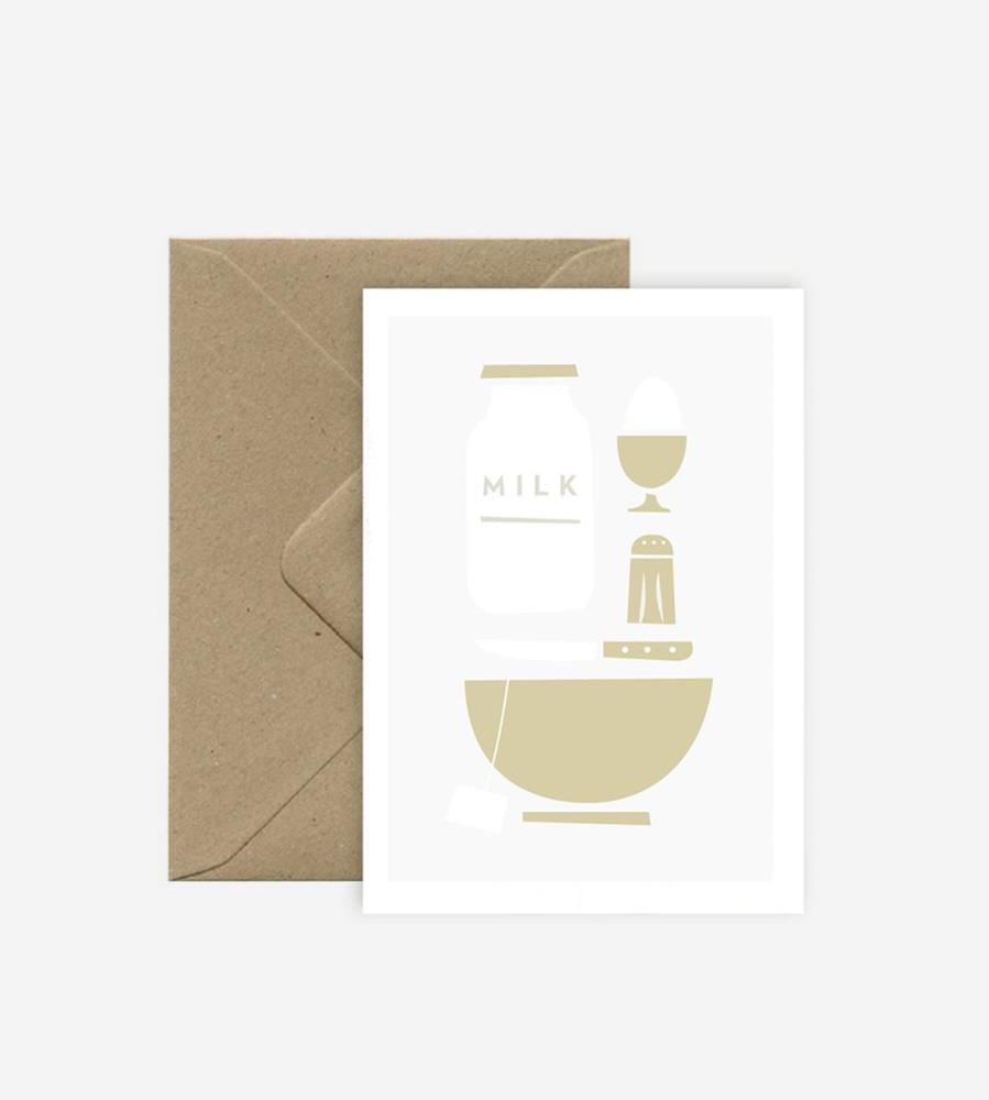 Michoucas Design |  Breakfast Card