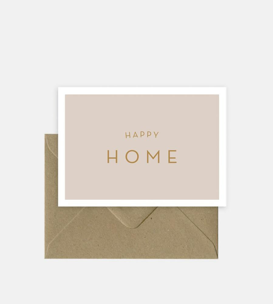 Michoucas Design | Happy Home Card