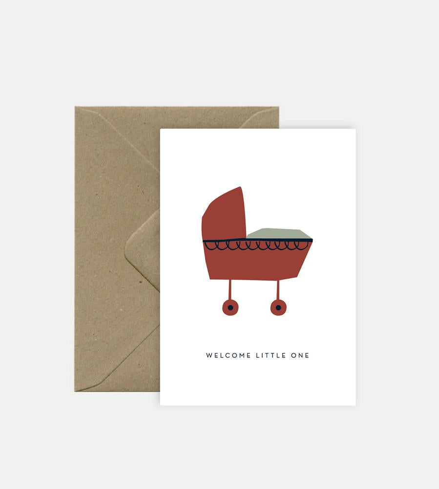 Michoucas Design | Welcome Little One Card