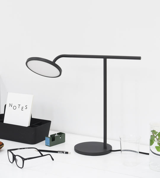 Milligram | Balance Desk Lamp | Black