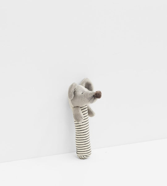 Mouse Rattle | Grey