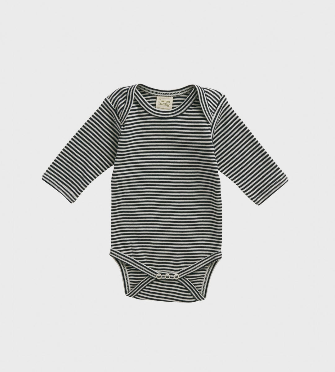 Nature Baby | Long Sleeve Bodysuit | Navy Stripe