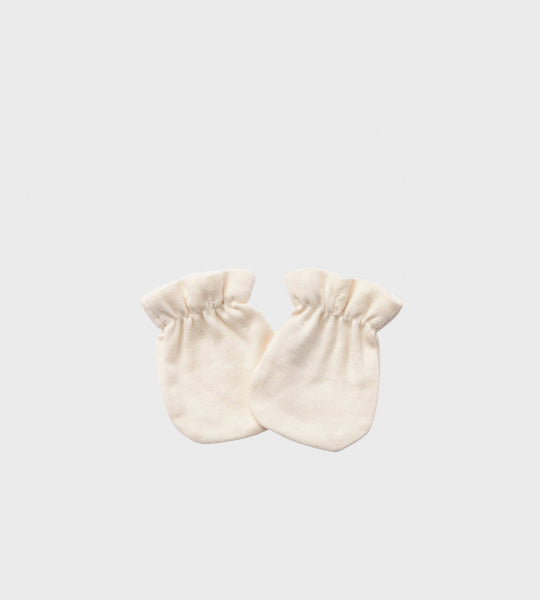 Nature Baby | Newborn Mittens | Natural
